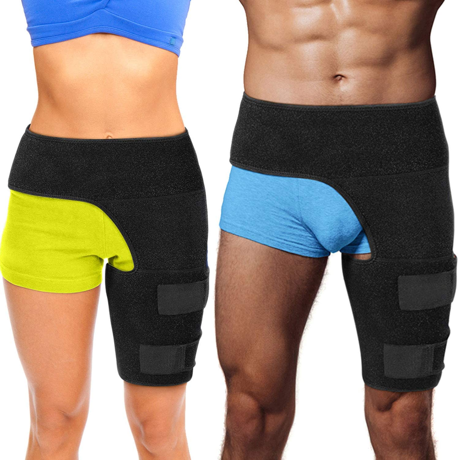 Cramer Neoprene Thigh Compression Sleeve Best Thigh Support Quadriceps Hamstrings Compression Leg Sleeves Compression Sleeves Running