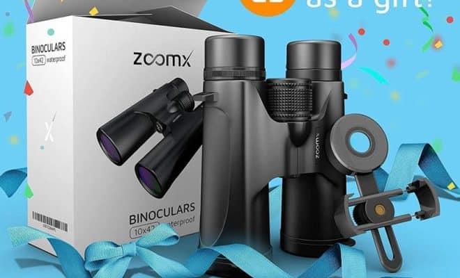 Compact Waterproof Binoculars