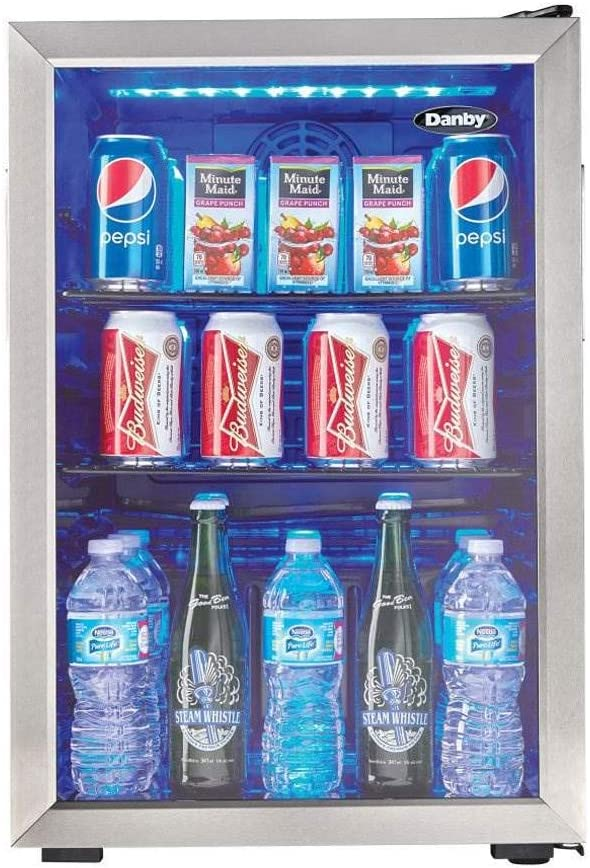 Danby DBC026A 95 Can Beverage Cooler