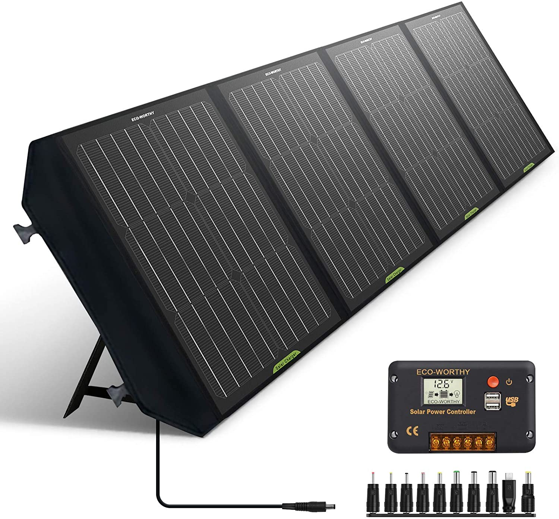 ECO-WORTHY Foldable 120W Solar Panel