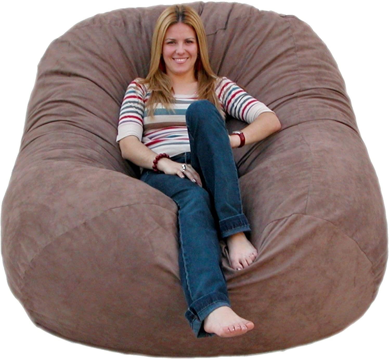 FUGU Cozy Sack 6-Feet Bean Bag Chair