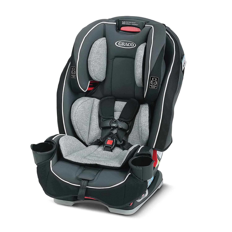 Grace SlimFit 3- in-1 Slim &Comfy Car Seat