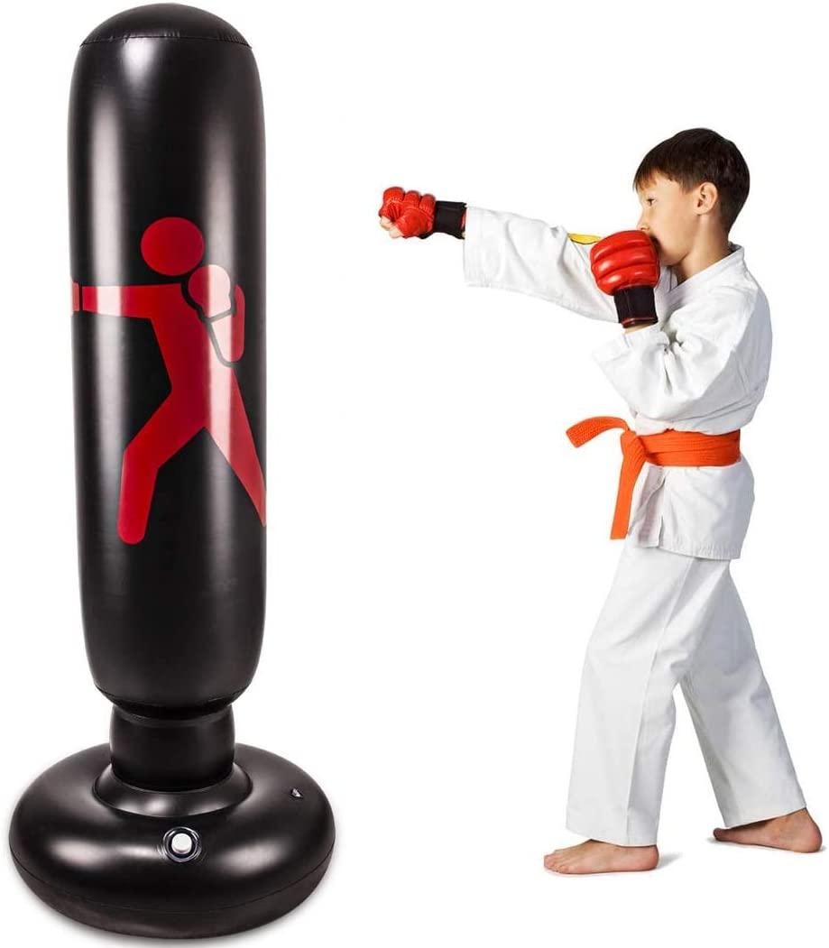 Kids Inflatable Freestanding Punching Bag