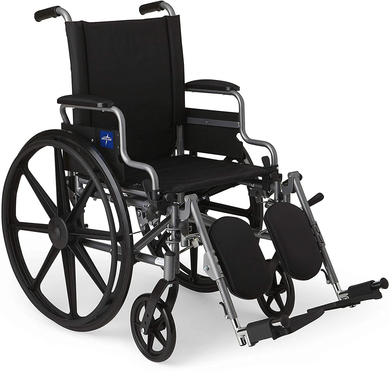 Medline MDS806550E User-friendly & Lightweight Wheelchair
