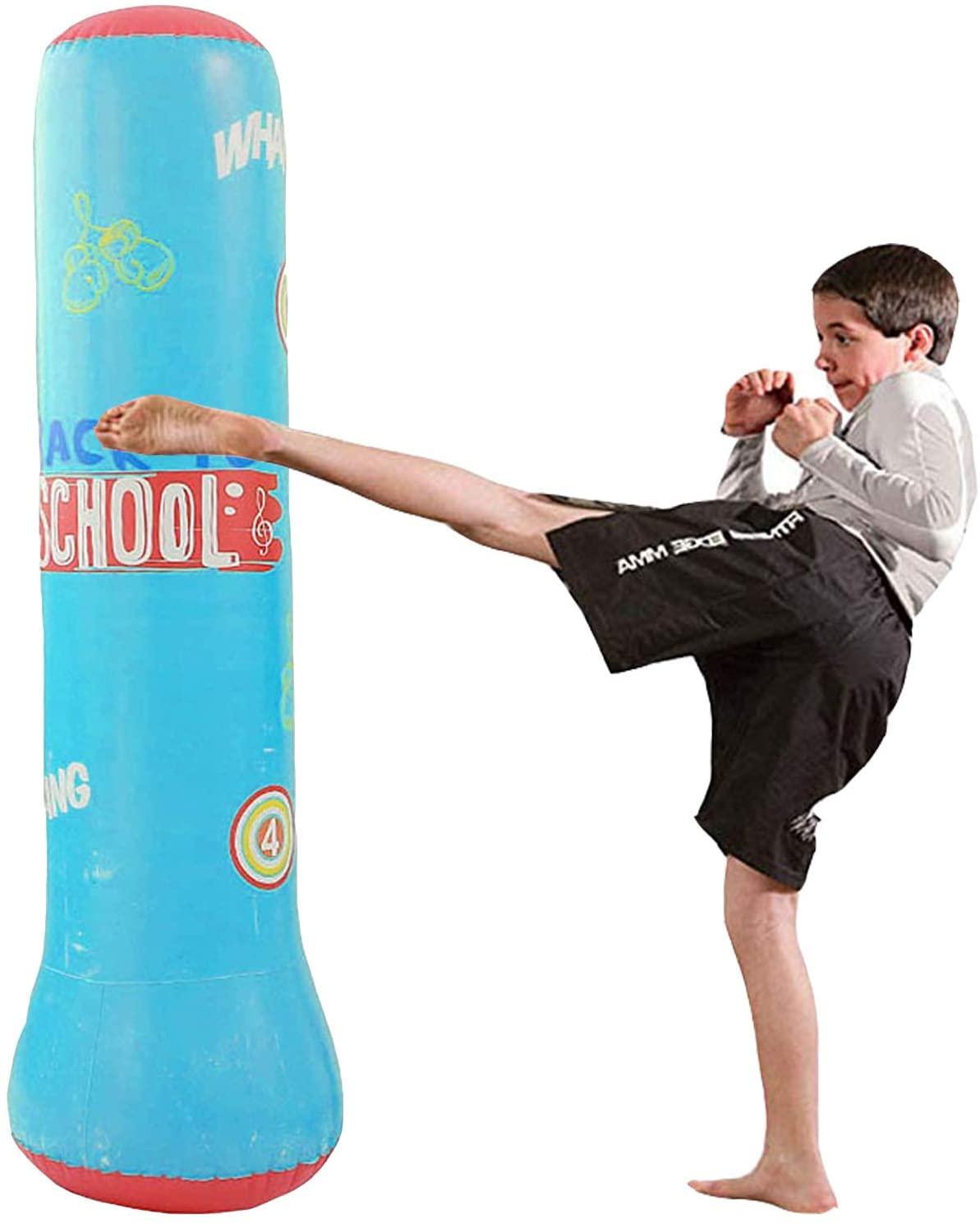 MrsharkFit Inflatable Punching Bag