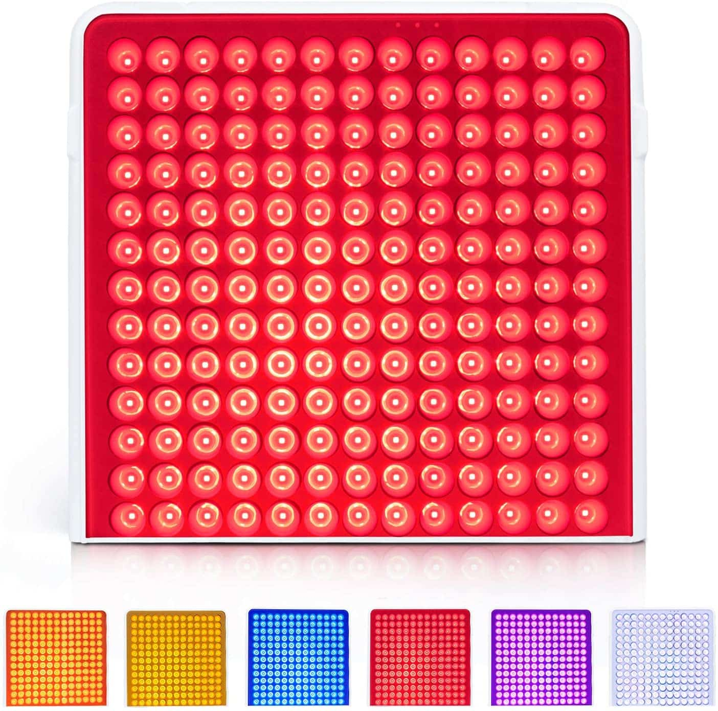 Multicolor Red Light Therapy Lamps