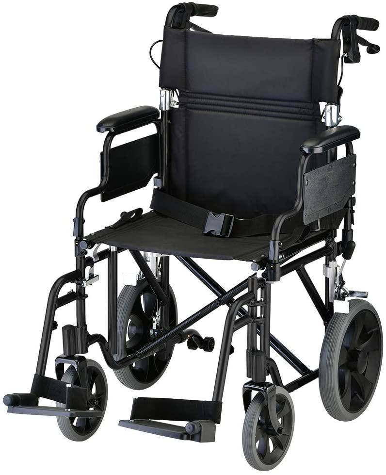 NOVA Lightweight Transport Wheelchair
