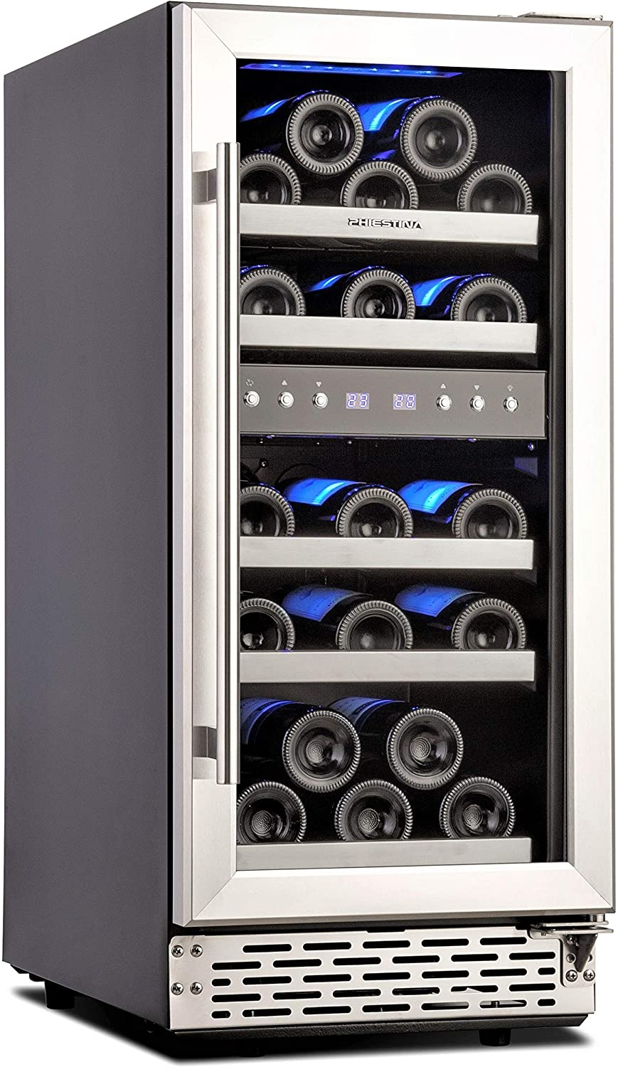 Phiestina 15-inch Dual Zone Beverage Cooler