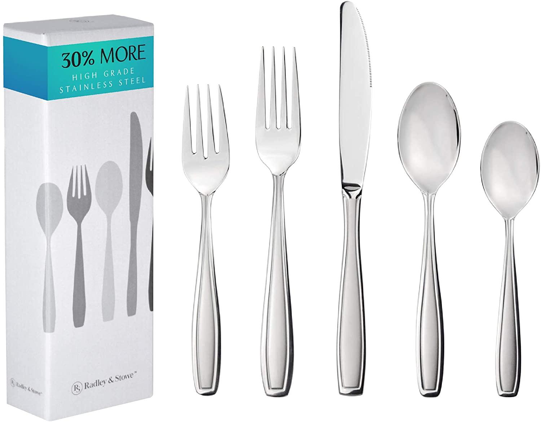 Radley & Stowe 20-Piece Stainless steel Silverware Set