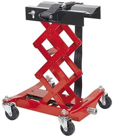 Sealey TJ150E Floor Transmission Jack 150kg – Red
