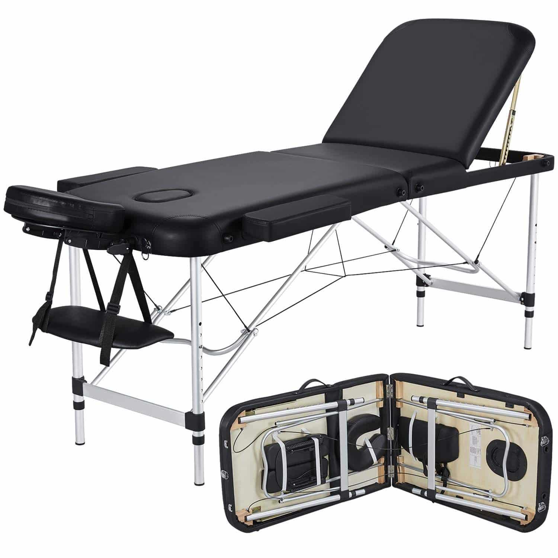 Yaheetech Folding Massage Table