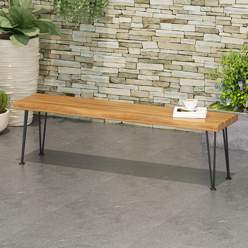 Christopher Knight Home 312780 Gladys Outdoor Wooden Bench