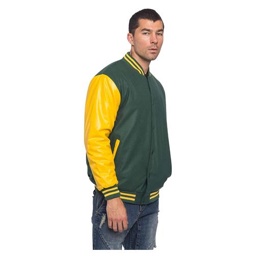 G-Style USA Men's Letterman Baseball Varsity Jacket