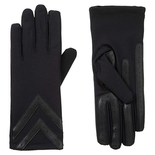 Isotoner Spandex Touchscreen Cold Weather Gloves