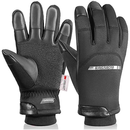 KINGSBOM Winter Waterproof Thermal Gloves
