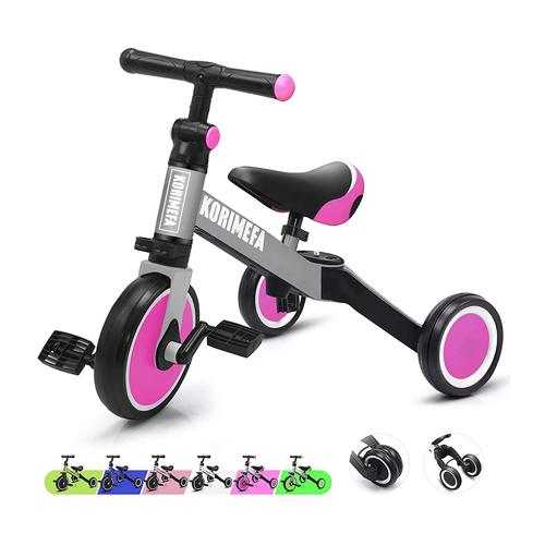KORIMEFA 3-in-1 Kids Trike for Children