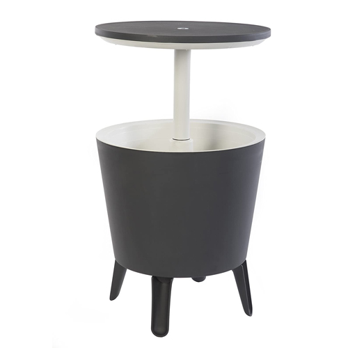 Keter Modern Cool Bar Patio Furniture and Hot Tub Side Table