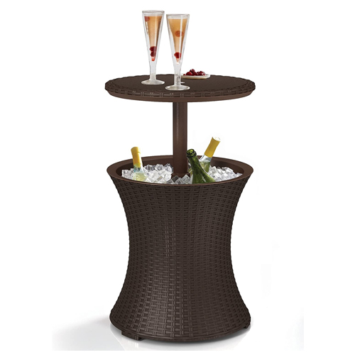 Keter Pacific Cool Bar Outdoor Side Table