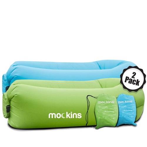 Mockins 2 Pack Inflatable Lounger Air Sofa