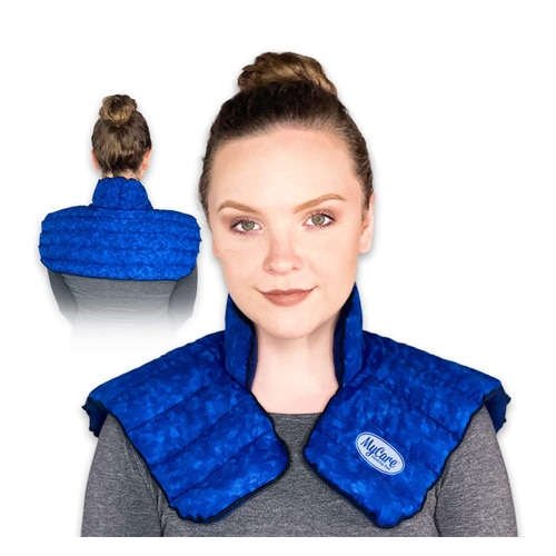 MyCare Heating Pad | Microwavable Large Neck and Shoulder Wrap