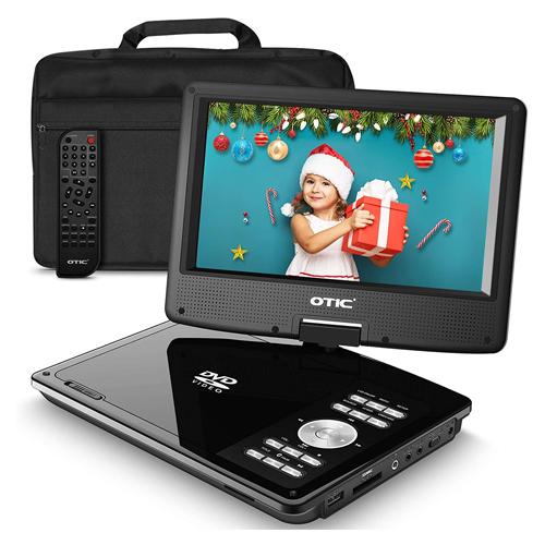 OTIC 10.1 Bluetooth Portable DVD Player