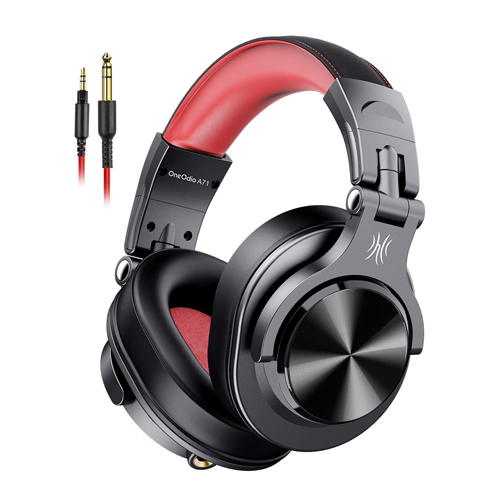 OneOdio A71 Wired Over-Ear Studio Headphones