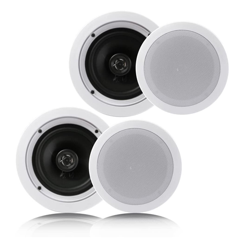 Pyle Pair Flush Mount In-wall In-ceiling