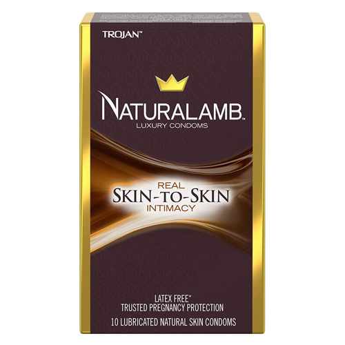 TROJAN NaturaLamb Luxury Latex-Free Condoms