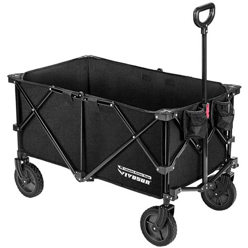 VIVOSUN Heavy-Duty Collapsible Folding Wagon