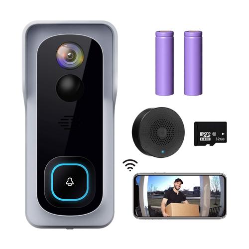 XTU WiFi Video Doorbell Camera