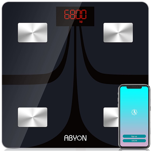 ABYON Bluetooth Smart Bathroom Scales
