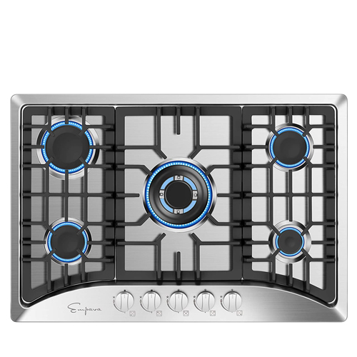 Empava 30-inch Gas stove Cooktop