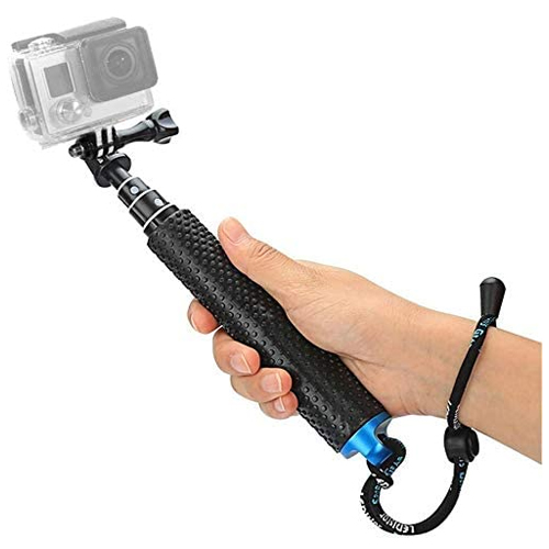 """Foretoo 19"""" Waterproof Hand Grip Selfie Stick"""