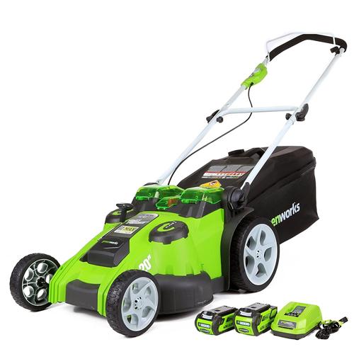 Greenworks 20-Inch Lawn Mower