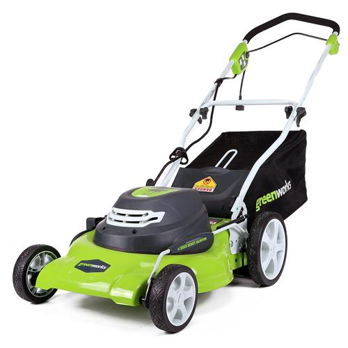 Greenworks Corded Lawn Mower, 25022