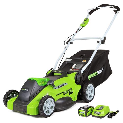Greenworks G-MAX 16-inch Lawn Mower