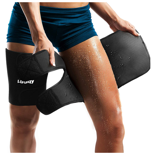 LODAY Neoprene Thigh Brace Support Hamstring Compression Sleeve