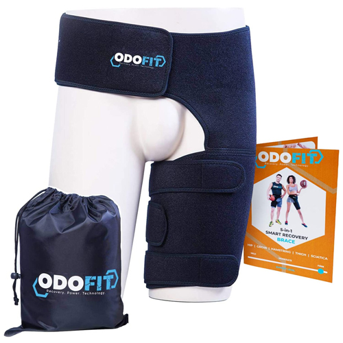 ODOFIT Hip Brace-Groin Wrap for Sciatica Pain Relief