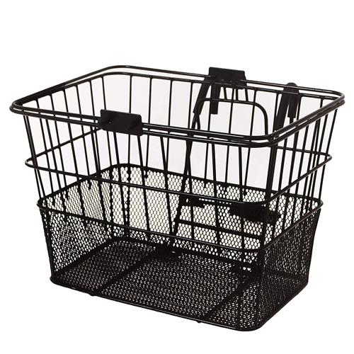 Retrospec Bicycles Detachable Steel Half-Mesh Apollo Bike Basket