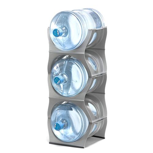Stackable Water Bottle Storage Rack