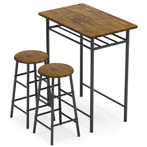 WeeHom 3-Piece Bar Table Set