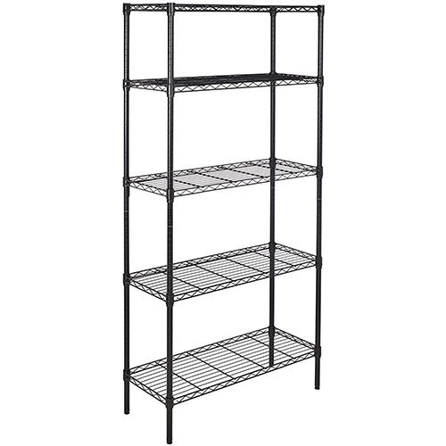 Amazon Basics 5-Shelf Adjustable Storage Shelving Unit