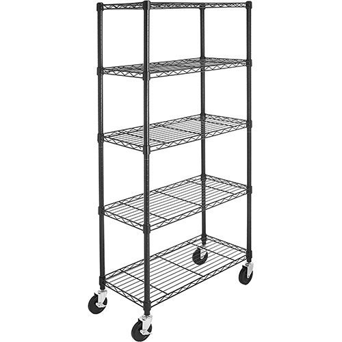 AmazonBasics 5-Shelf Garage Storage Rack