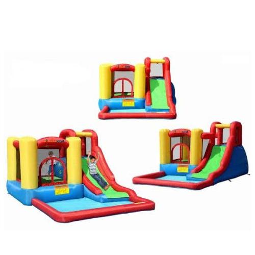 Bounceland Jump and Splash Inflatable Pool Slide