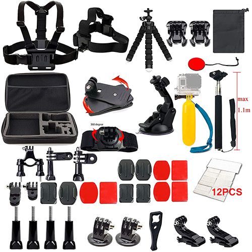 Lifelimit Accessories Starter Kit for GoPro