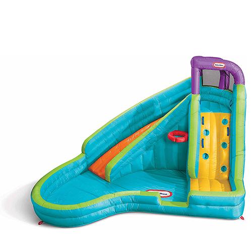 Little Tikes Slam' n Curve Slide, Inflatable Pool Slide