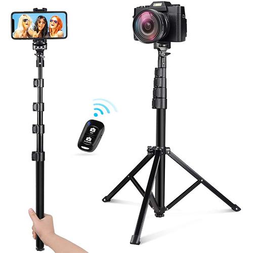 UBeesize 54-inch Selfie Stick Tripod Stand