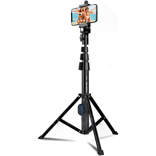 Fugetek 51-inch Professional Selfie Stick & Tripod