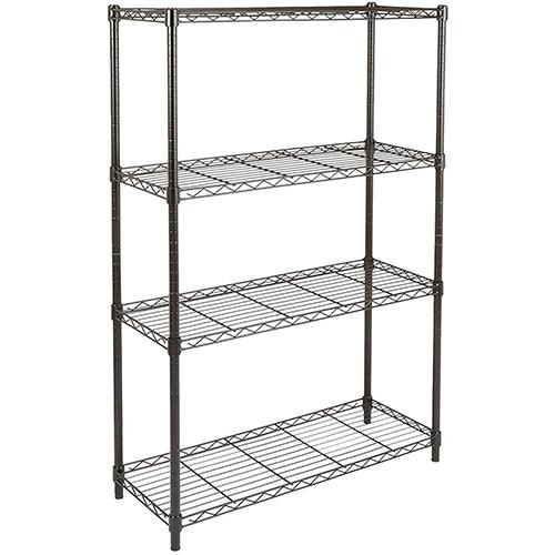 Amazon Basics 4-Shelf Adjustable Metal Storage Shelves (36L x 14W x 54H)