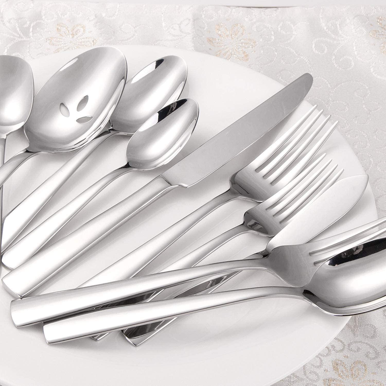 Brightown 45-Piece Silverware Flatware Cutlery Set